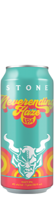 Stone Neverending Haze IPA can