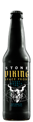 Stone Viking Space Probe Hazy Double IPA bottle