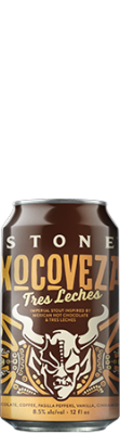 Stone Xocoveza Tres Leches can