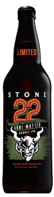 Stone 22nd Anniversary Anni-Matter Double IPA bottle