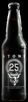 Stone 25th Anniversary Triple IPA bottle