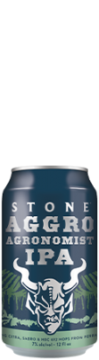 Stone Aggro Agronomist IPA can