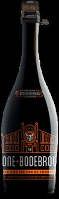 "Bodebrown / Stone ""Virando Brasiliero con Madeira Vermelha"" bottle"