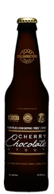 Jason Fields & Kevin Sheppard / Tröegs / Stone Cherry Chocolate Stout Aged in Rye Whiskey Barrels bottle