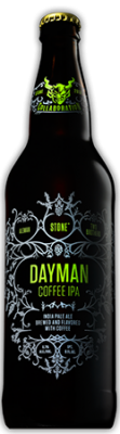 Aleman / Two Brothers / Stone Dayman Coffee IPA bottle