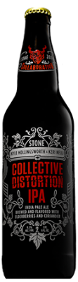 Kyle Hollingsworth / Keri Kelli / Stone Collective Distortion IPA bottle
