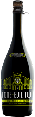 "Evil Twin / Stone ""Saures Übel Imperial Berliner Weisse"" bottle"