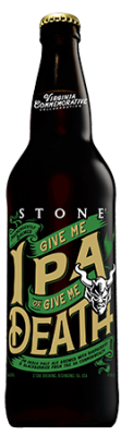Stone Give Me IPA or Give Me Death bottle
