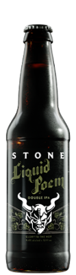 Stone Liquid Poem Double IPA bottle