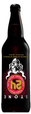 Stone 24th Anniversary DidgeriDoom Double IPA bottle