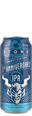 Liberty Station 5th Anniversary can