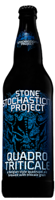 Stone Stochasticity Project Quadrotriticale bottle