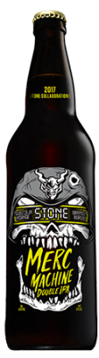 Miguel Ceja Andrade / Brandon Berube / Stone Merc Machine bottle