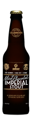 Bottle of Ken Schmidt / Iron Fist / Stone Mint Chocolate Imperial Stout