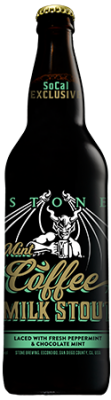 Stone Mint Coffee Milk Stout bottle