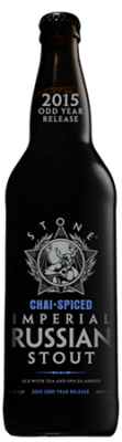 Stone Chai-Spiced Imperial Russian Stout bottle