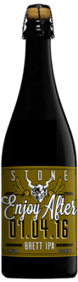 Stone Enjoy After 07.04.16 Brett IPA bottle