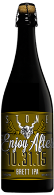 Stone Enjoy After 10.31.15 Brett IPA bottle