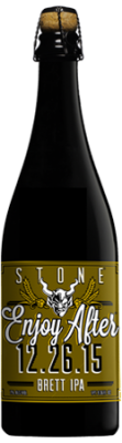 Stone Enjoy After 12.26.15 Brett IPA bottle