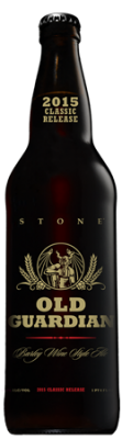 Stone Old Guardian Barley Wine bottle