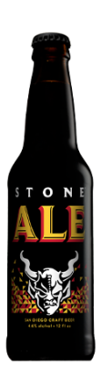 Stone Ale bottle