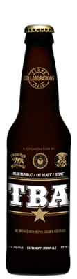Bear Republic / Fat Head's / Stone TBA bottle