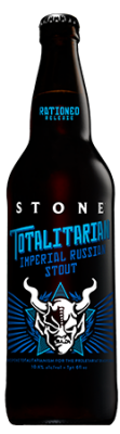 Stone Totalitarian Imperial Russian Stout bottle