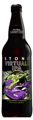 Stone VirtuALE IPA bottle