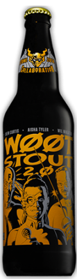 bottle of Stone wootstout 2.0