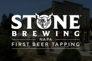 Stone Brewing - Napa first beer tapping