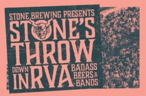 Stone Brewing Presents Stone's Throwdown in RVA Badass Beers & Bands