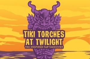 Tiki Torches at Twilight - Tiki Inspired Tap Takeover