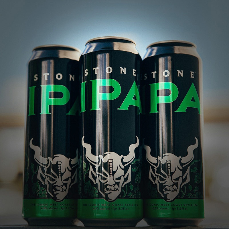 Stone IPA 19.2oz Cans