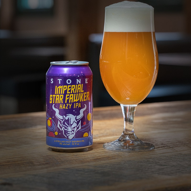 can and glass of imperial star fawker