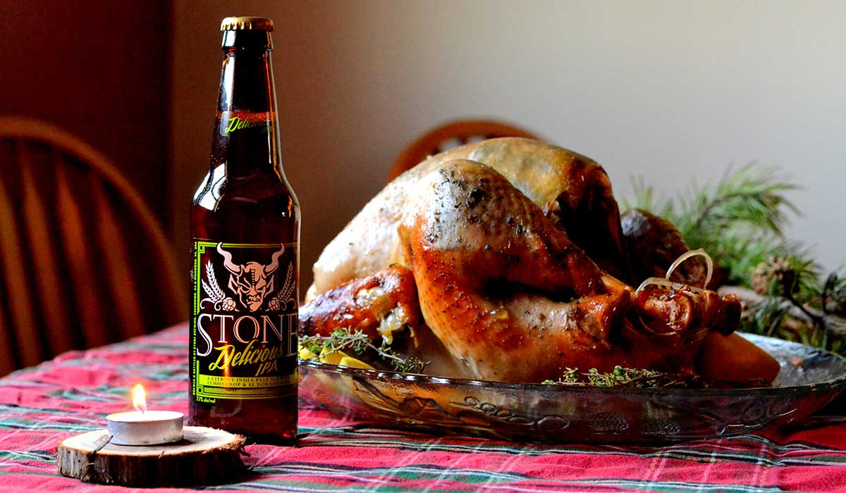 Lemon and Herb IPA Glazed Turkey 4