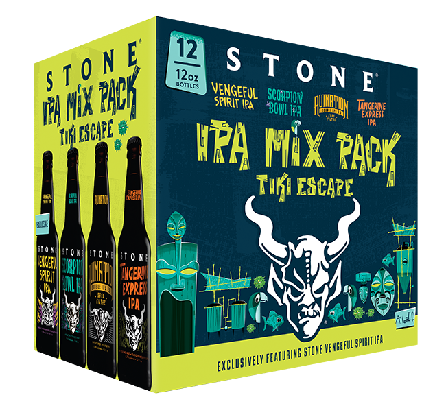 Tiki Escape Mixed Pack
